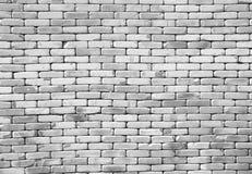 Pared de ladrillo blanca vieja con el fondo del filtro del vintage Imagen de archivo
