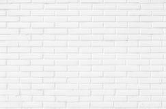 Pared de ladrillo blanco y negro Imagen de archivo libre de regalías