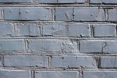 Pared de ladrillo coloreada en color gris Imagenes de archivo