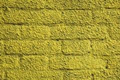 Pared de ladrillo con textura del estuco Imagen de archivo