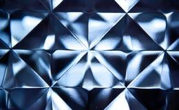 Pared de ladrillo de cristal Fotografía de archivo