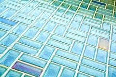 Pared de ladrillo de cristal Imagen de archivo libre de regalías
