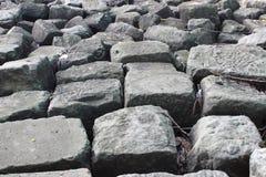 Pared de ladrillo de piedra imagen de archivo