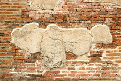 Pared de ladrillo de piedra Foto de archivo libre de regalías