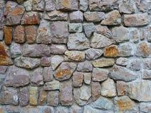 Pared de ladrillo de piedra vieja Imagenes de archivo