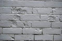 Pared de ladrillo gris Fotografía de archivo libre de regalías
