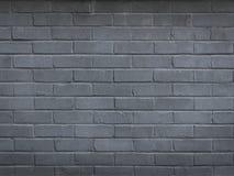 Pared de ladrillo gris vacía para la copia - imagen común Imagen de archivo libre de regalías