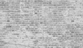 Pared de ladrillo gris vieja Fotografía de archivo libre de regalías
