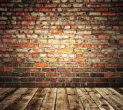 Pared de ladrillo multicolora Imagen de archivo