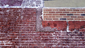 Pared de ladrillo New York City Foto de archivo