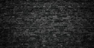 Pared de ladrillo oscura como contexto elemento del diseño del ladrillo Fotografía de archivo