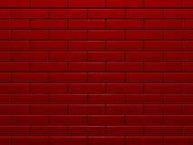 Pared de ladrillo roja Foto de archivo