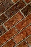 Pared de ladrillo roja Fotografía de archivo