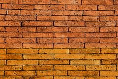 Pared de ladrillo roja Los bloques de piedra negros de la textura Fondo abstracto para el diseño foto de archivo