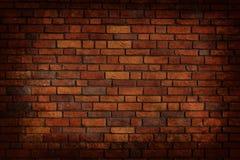 Pared de ladrillo sucia Imagen de archivo libre de regalías