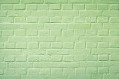 Pared de ladrillo trasera del callejón Fotografía de archivo libre de regalías