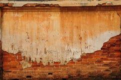 Pared de ladrillo vieja Foto de archivo