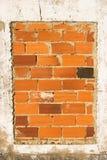 Pared de ladrillo vieja Fotografía de archivo