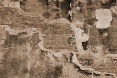 Pared de ladrillo vieja Imagenes de archivo