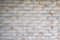 Pared de ladrillo vieja en imagen del fondo Imagenes de archivo