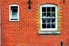 Pared de ladrillo vieja en Inglaterra Fotos de archivo