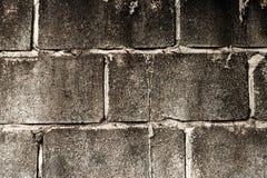 Pared de ladrillo vieja en una imagen de fondo Fotos de archivo libres de regalías