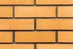 Pared de ladrillos amarillos Fotos de archivo