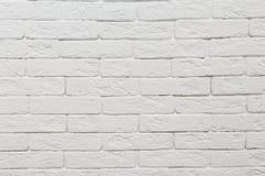 Pared de ladrillos blanca textute Modelo imagen de archivo libre de regalías