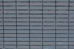 Pared de ladrillos cuadrada en color cinéreo Foto de archivo libre de regalías