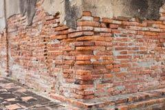 Pared de ladrillos de Conner Foto de archivo