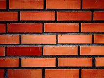 Pared de ladrillos rojos III Fotos de archivo libres de regalías