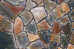 Pared de las piedras grandes del granito Fotos de archivo