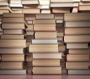 Pared de libros Fotos de archivo