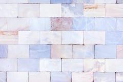 Pared de los azulejos de mármol Textura de piedra Fondo inusual vacío foto de archivo