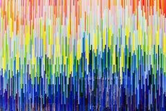Pared de los colores Fotos de archivo