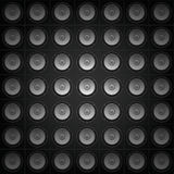 Pared de los sonidos Fotografía de archivo