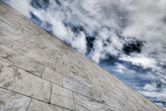 Pared de mármol Fotos de archivo libres de regalías