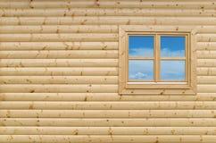 Pared de madera Foto de archivo libre de regalías