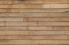 Pared de madera Imagenes de archivo