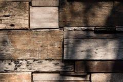 Pared de madera Imagen de archivo libre de regalías