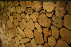 pared de madera antigua Imagen de archivo