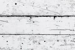Pared de madera blanca imagen de archivo libre de regalías