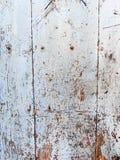 Pared de madera blanca, fondo Imagenes de archivo