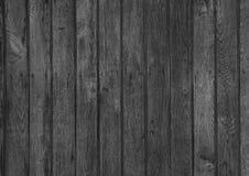 Pared de madera blanco y negro Fotos de archivo