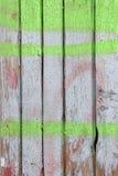 Pared de madera coloreada Fotografía de archivo libre de regalías
