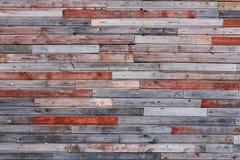 Pared de madera colorida vieja Foto de archivo libre de regalías