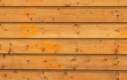 Pared de madera de Brown Fotografía de archivo