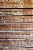 Pared de madera de la casa de madera vieja Imagenes de archivo
