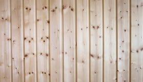 Pared de madera de la sauna Fotos de archivo libres de regalías