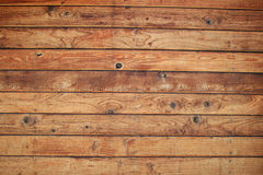 Pared de madera de la tarjeta Foto de archivo libre de regalías